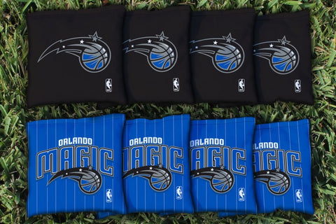 Orlando Magic Corn Hole Bag Logo Set - corn filled