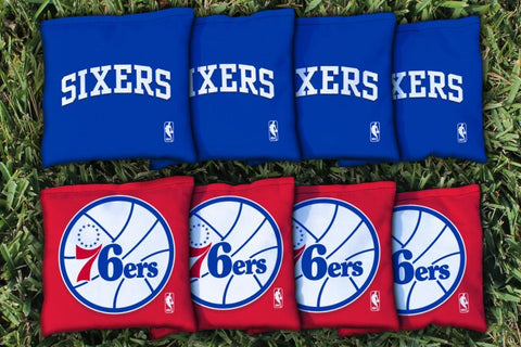 Philidelphia Sixers 76ers Cornhole All Weather Bags Victory Tailgate 28868
