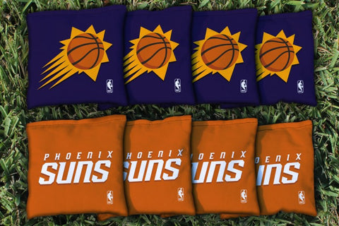 Phoenix Suns Corn Hole Bag Logo Set - corn filled