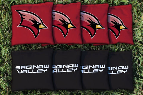 Saginaw Valley State SVSU Cardinals Cornhole All Weather Bags Victory Tailgate 29457
