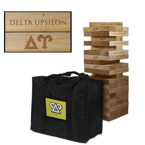 Delta Upsilon Giant Jenga Tumble Tower Game