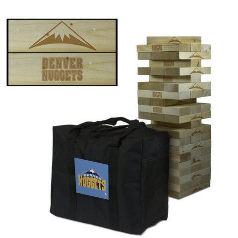 Giant Tumble Tower Game - Denver Nuggets