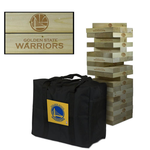 The Golden State Warriors Giant Jenga Tumble Tower Game