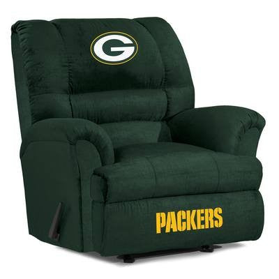 Green Bay Packers  Big Daddy Reclining Chair for Mans Caves and fan recliners
