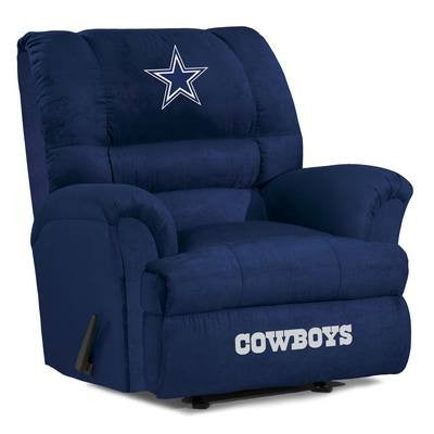 Dallas Cowboys  Big Daddy Reclining Chair for Mans Caves and fan recliners