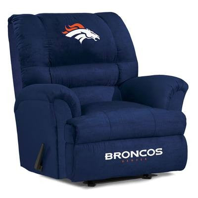 Denver Broncos  Big Daddy Reclining Chair for Mans Caves and fan recliners