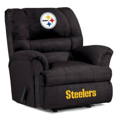 Pittsburgh Steelers  Big Daddy Reclining Chair for Mans Caves and fan recliners