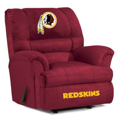 Washington Redskins  Big Daddy Reclining Chair for Mans Caves and fan recliners