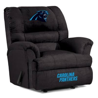 Carolina Panthers  Big Daddy Reclining Chair for Mans Caves and fan recliners