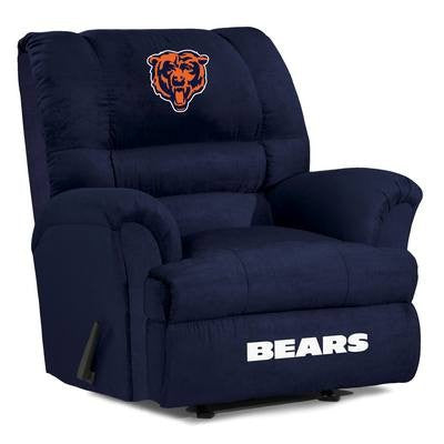 Chicago Bears  Big Daddy Reclining Chair for Mans Caves and fan recliners