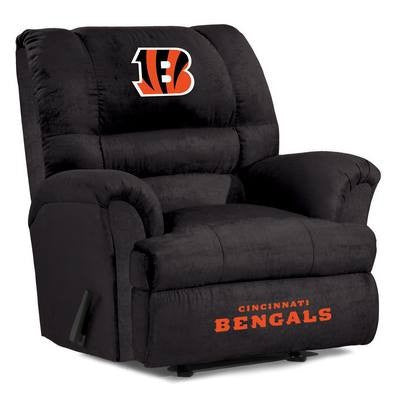 Cincinnati Bengals  Big Daddy Reclining Chair for Mans Caves and fan recliners