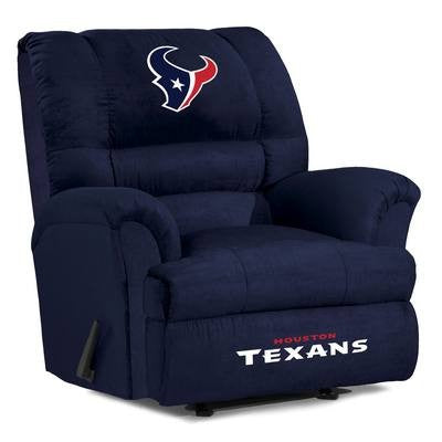 Houston Texans  Big Daddy Reclining Chair for Mans Caves and fan recliners