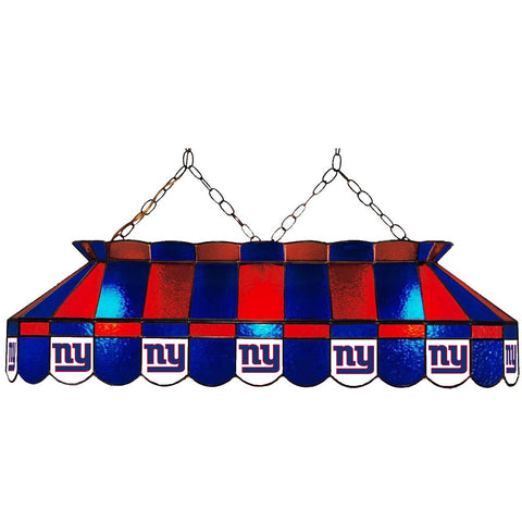 New York Giants 40in GLASS LAMP fan cave mans den pools lighting