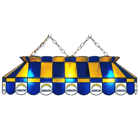 San Diego Chargers 40in GLASS LAMP fan cave mans den pools lighting