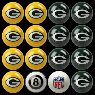 Green Bay Packers Pools Balls Billiard for Pooling and balling hitting