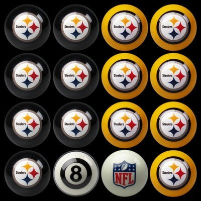 Pittsburgh Steelers Pools Balls Billiard for Pooling and balling hitting