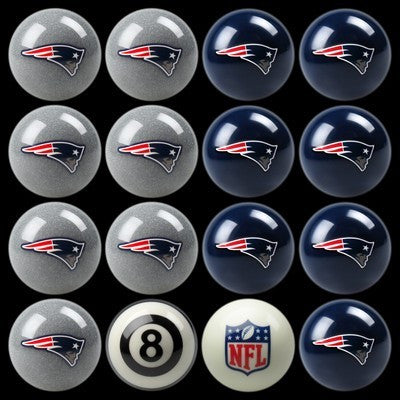 New England Patriots Pools Balls Billiard for Pooling and balling hitting