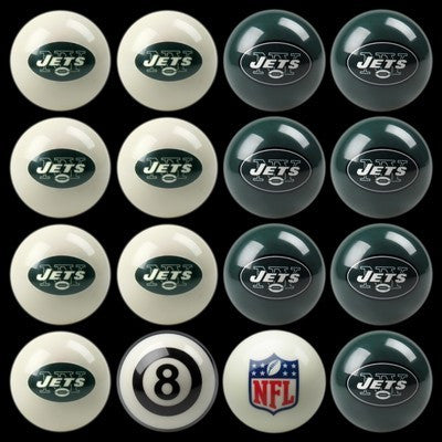 New York Jets Pools Balls Billiard for Pooling and balling hitting