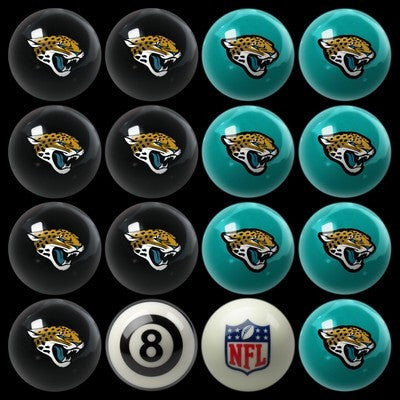 Jacksonville Jaguars Pools Balls Billiard for Pooling and balling hitting