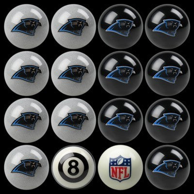 Carolina Panthers Pools Balls Billiard for Pooling and balling hitting