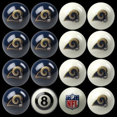 Los Angeles Rams Pools Balls Billiard for Pooling and balling hitting