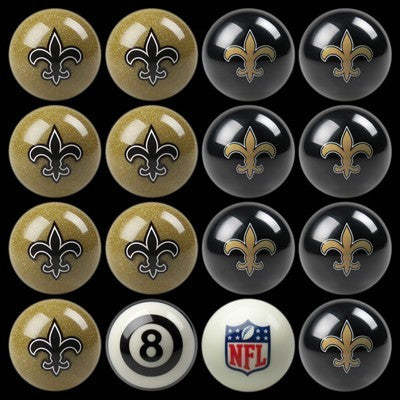 New Orleans Saints Pools Balls Billiard for Pooling and balling hitting
