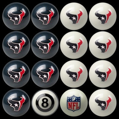 Houston Texans Pools Balls Billiard for Pooling and balling hitting