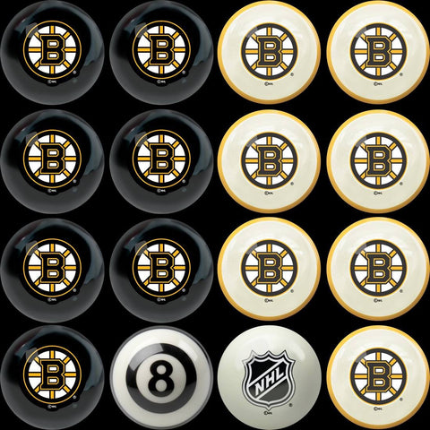 Boston Bruins Pools Balls Billiard for Pooling and balling hitting