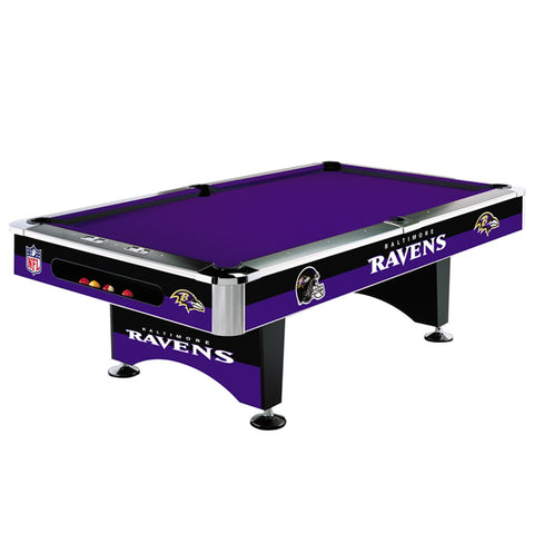 Baltimore Ravens 8' NFL Pool Table - Imperial Usa Imp 64-1025