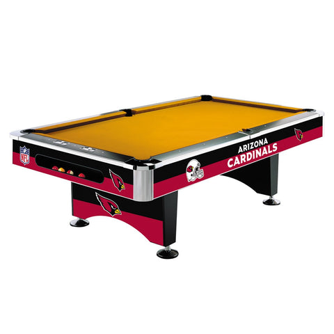 Arizona Cardinals 8' NFL Pool Table - Imperial Usa Imp 64-1029