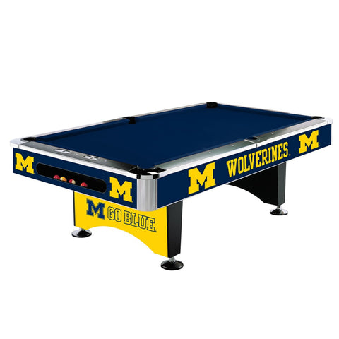 Michigan Wolverines 8' Pool Table - Imperial Usa Imp  64-4009