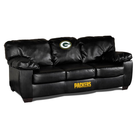Green Bay Packers  Man Cave Fan Couches, Sofas for fan cavers