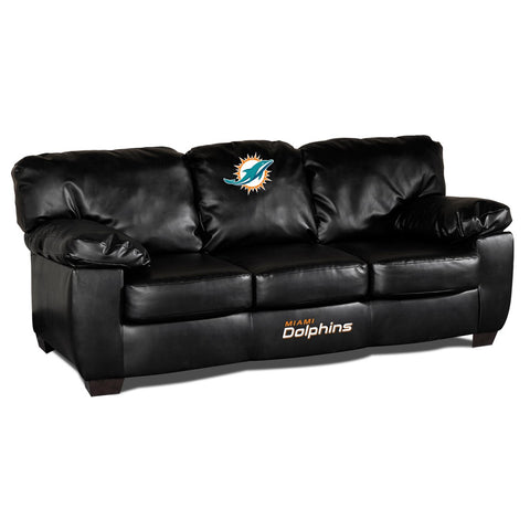 Miami Dolphins  Man Cave Fan Couches, Sofas for fan cavers