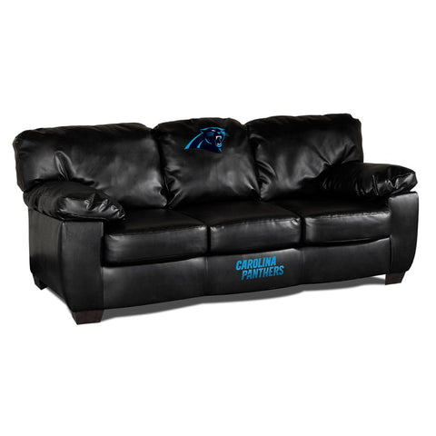 Carolina Panthers  Man Cave Fan Couches, Sofas for fan cavers