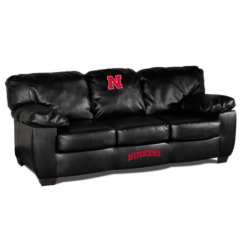 University Of Nebraska Man Cave Fan Couches, Sofas for fan cavers