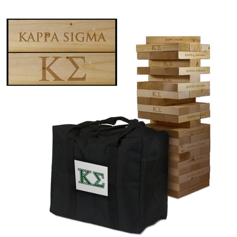 Kappa Sigma Giant Jenga Tumble Tower Game