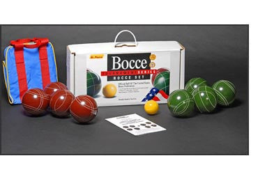 Bocce Tournament edition with Nylon Carry Case