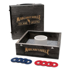 The Jimmy Buffet Margaritaville tailgating games collection
