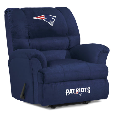 New England Patriots  Big Daddy Reclining Chair for Mans Caves and fan recliners