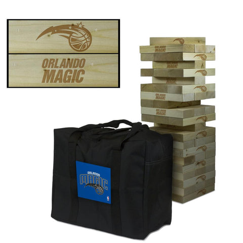 The Orlando Magic Giant Jenga Tumble Tower Game