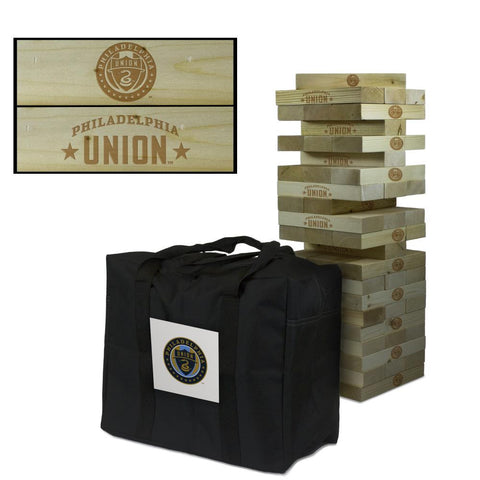 Philadelphia Union Giant Jenga Tumble Tower Game