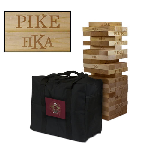 Pi Kappa Alpha Giant Jenga Tumble Tower Game