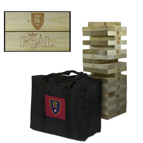 Real Salt Lake Giant Jenga Tumble Tower Game