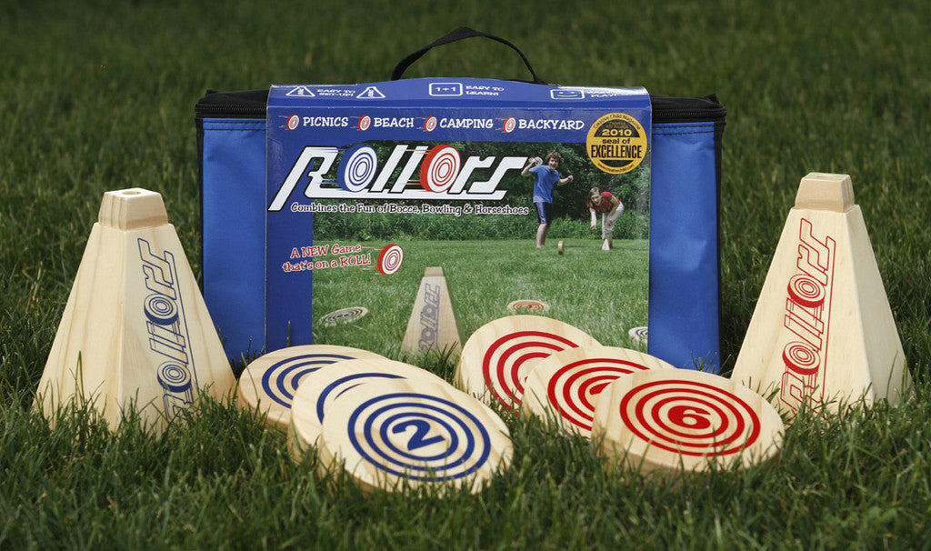 Roller classic family backyard games