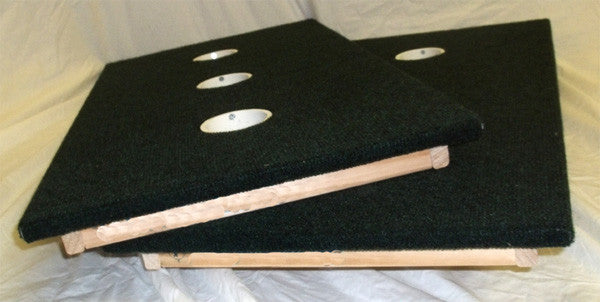 3 hole washer toss game, made in the USA