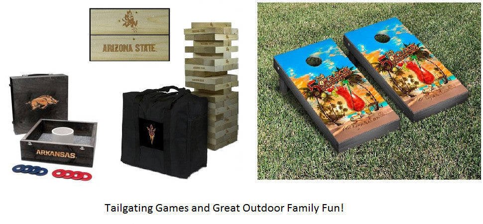 Outdoor and Tailgating Games