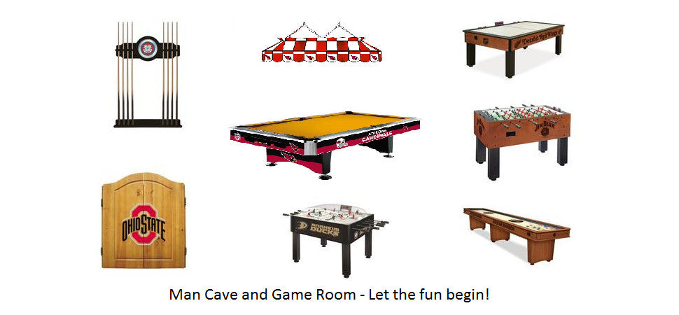 Man Cave and Game Room Accessories