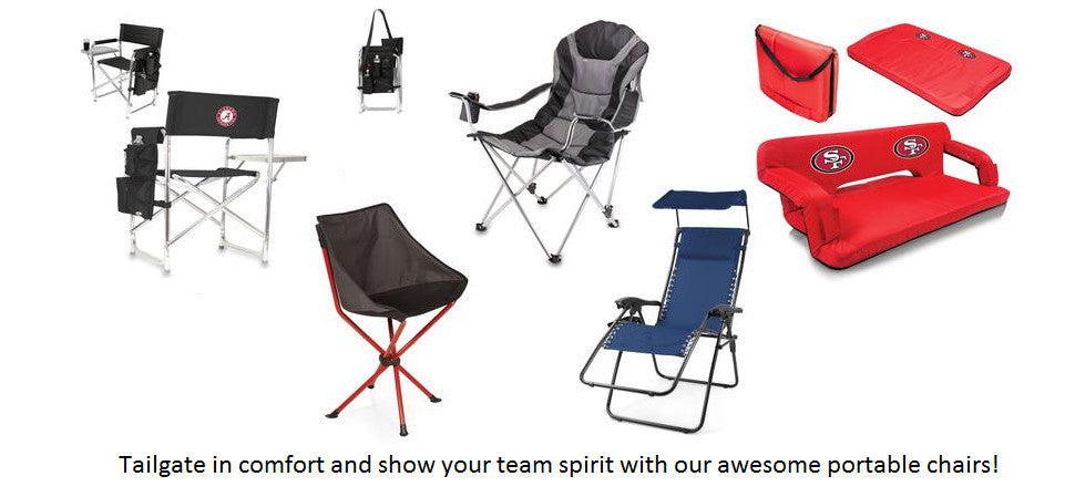Portable Tailgating Chairs and Seating