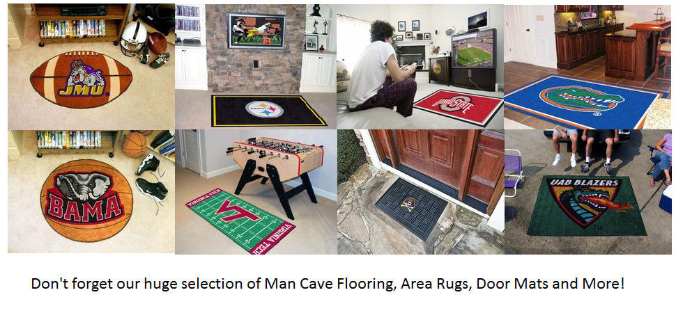 Man Cave Flooring Ideas, Area Rugs, Door Mats and more