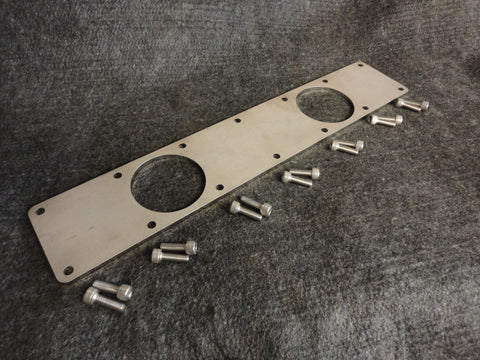 TWIN!!! Cummins Turbo Diesel 6BT 5.9L 12 & 24 valve Custom Intake Manifold Plate